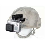 Supporto per Action Camera con Aggancio per Elmetto (WO-GO32 WOSPORT)