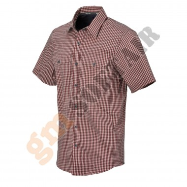 Covert Concealed Carry Short Sleeve Shirt Dirt Red Tg. L (KO-CCS-CB Helikon-Tex)