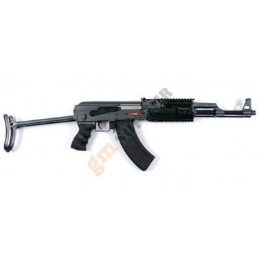 AK47-S RAS Nero con Calcio Stampella