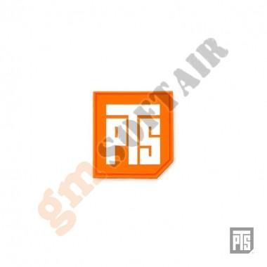 """Patch 3D PVC Logo 1.5"""" Orange (PT840530341 PTS)"""