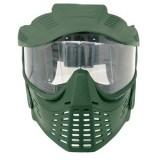 Maschera verde Plexiglass