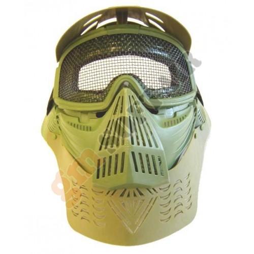 Maschera Verde Rete Grande