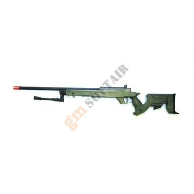 Fucile a molla Well MB04 Verde con Bipiede