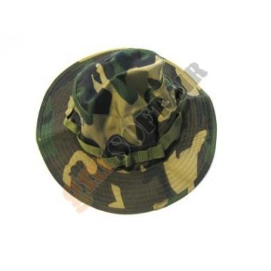 Boonie Hat Woodland tg. S