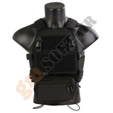 Combat  Tactical Vest con Chest Rig Nero (EM7407B EMERSON)