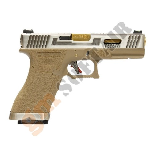 G17 Force Series T1 Nera con Canna Oro (WG01WET WE)