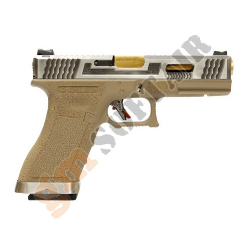 G18 Force Series T1 Nera con Canna Oro (WG02WET WE)