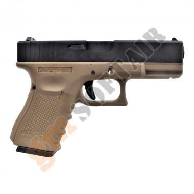 Glock G19 Nera / TAN (WG03B WE)