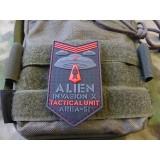 Patch 3D ALIEN INVASION X-Files Area-51 Red (JTG.AIXF.RED JTG)