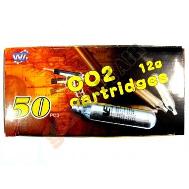 Confezione 50 Fialette CO2