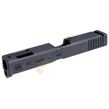 Aluminum Slide for Marui GLOCK-17C (Black)