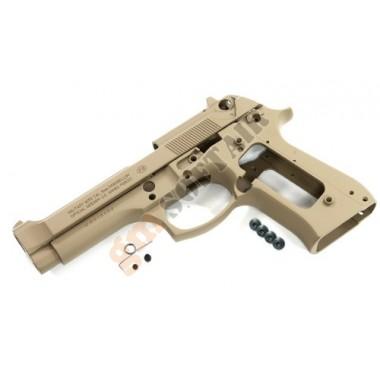 Aluminum Slide & Frame for MARUI M9 (TAN)