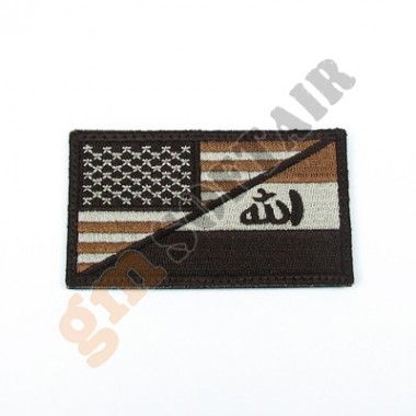 Patch US&IRAQ Military Maneuvers TAN Ricamata