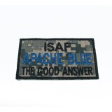 Patch Apache Blue ACU Ricamata