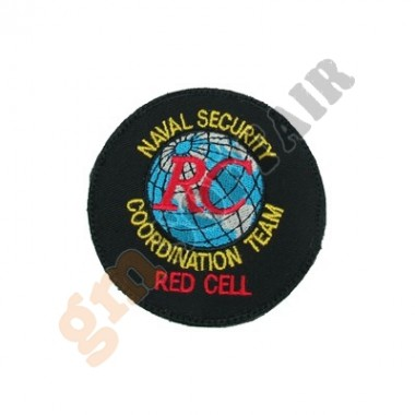 Patch Seal Team 6 Red Cell a Colori Ricamata