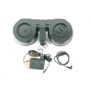 Caricatore Elettrico CAR M4-2 doppio per M4