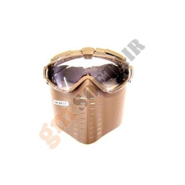 Maschera con Ventola Tan (M001T GOLDEN ARROWS)
