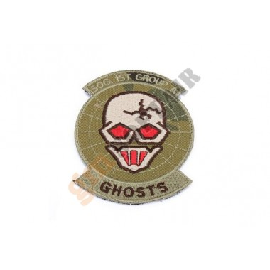 Patch Ghosts SOG Team Multicam Ricamata
