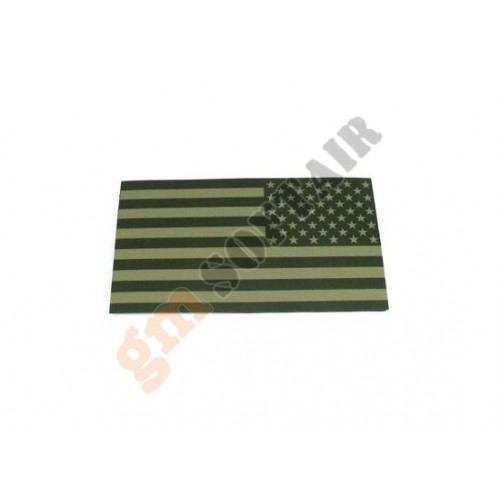 Bandiera USA DX OD Plastificata Large