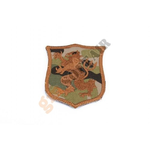 Patch Seal Gold Team Lion S Multicam Ricamata