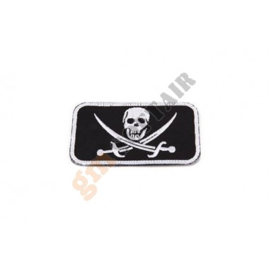 Patch Seal Team Nera Ricamata Large