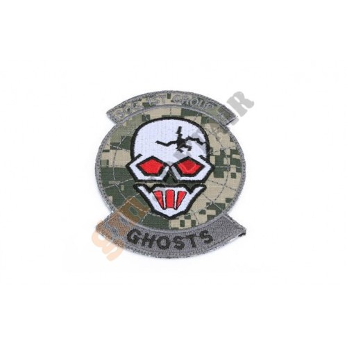 Patch Ghosts SOG Team ACU Ricamata