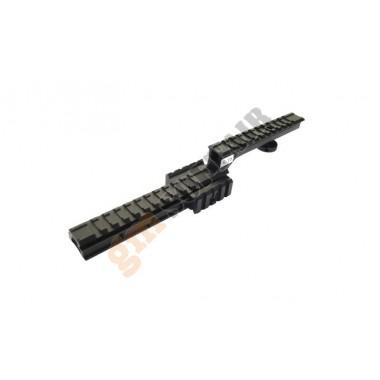 Slitta 2 livelli per serie M4/M16