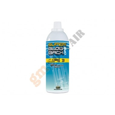 Super Blow Back Gas APS3 400 ml