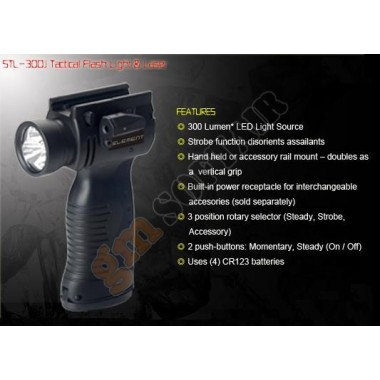 Impugnatura Torcia STOPLite STL-300J (EX055 ELEMENT)