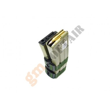 Caricatore Elettrico Doppio M4/M16 TAN
