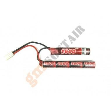 Batteria MINI Ni-Mh 8.4x1600 Calcio Crane