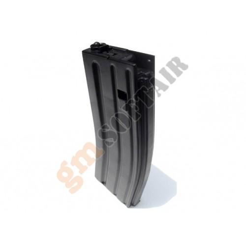 Caricatore monofilare da 82bb per M4 Recoil/Sopmod/Scar Nero