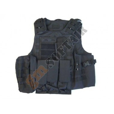 Body Armor con Tasche Nero