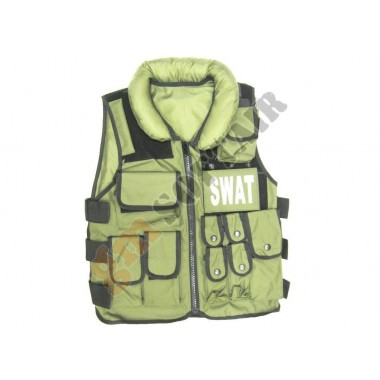 Gilet Tattico SWAT Verde