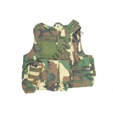 Body Armor con Tasche Woodland