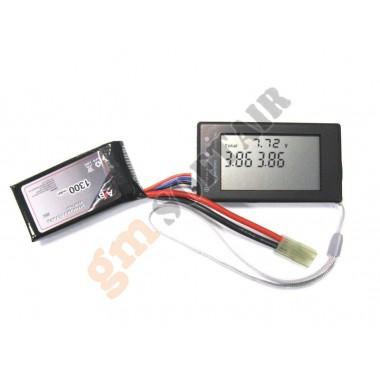 Tester LCD Litio/NI-MH (ACTION BATTERIES)
