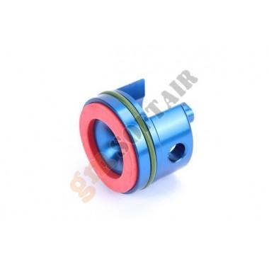 Testa Cilindro Alluminio Blu V.2