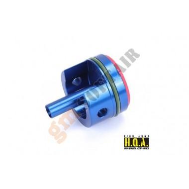 Testa Cilindro Alluminio Blu per AUG