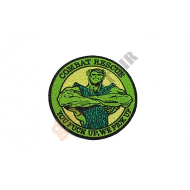 Patch PJ Combat Rescue a Colori Ricamata
