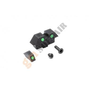 Tacche di Mira Verdi per Glock 18C Marui