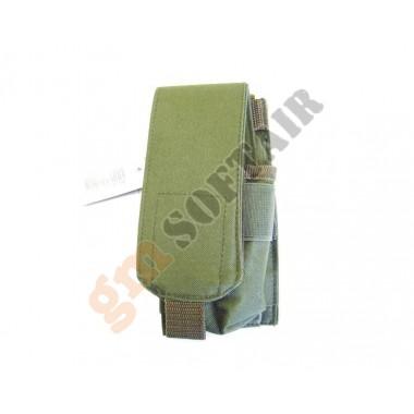 Tasca porta caricatore M4 MOLLE Verde