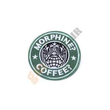 Patch USAF PJ Morphine/Coffee OD Ricamata