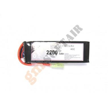 LiPo 11.1x2200 40C