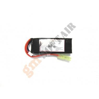 LiPo 11.1x800 20C Mini
