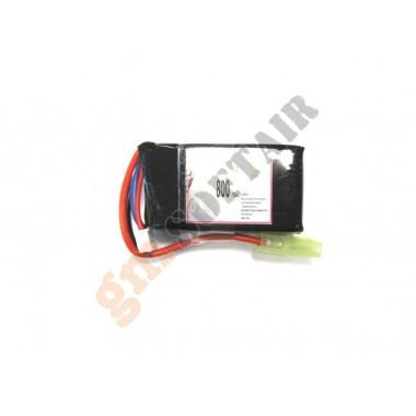 LiPo 11.1x800 20C Mini Peq15
