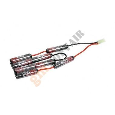 Batteria 9.6x1600 Ni-Mh EP per CXP
