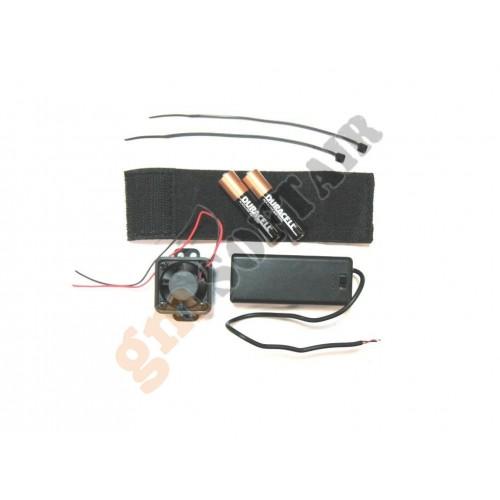 Ventola Turbo Fan per Maschere (G-07-040 G&G)