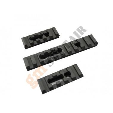 Set 3 Slitte per Paramano MOE in Alluminio