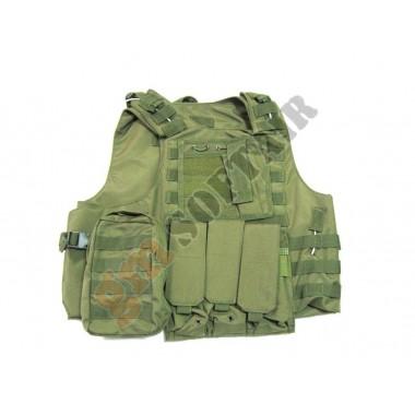 Body Armor con Tasche VERDE