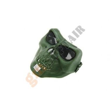 Maschera Teschio Verde